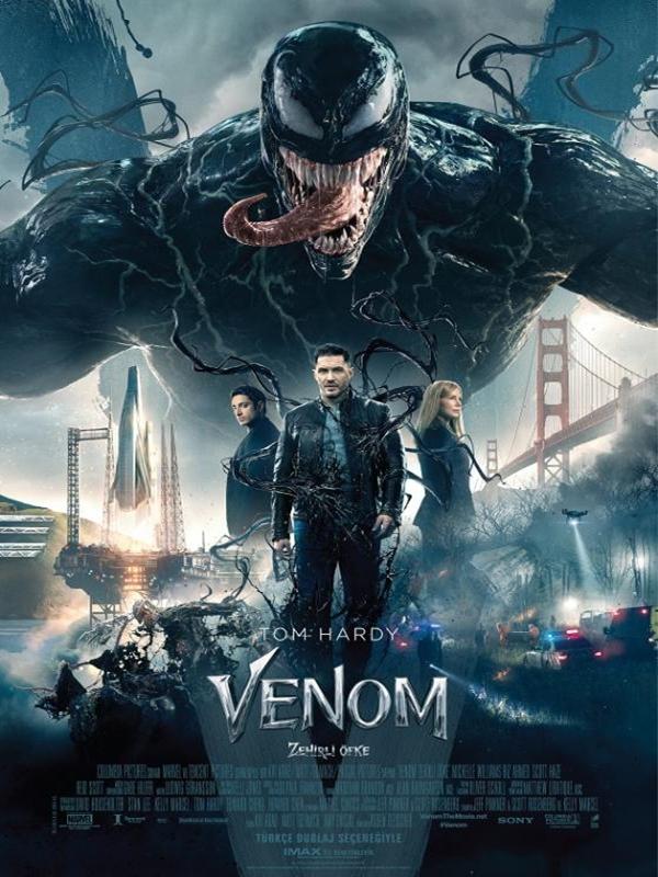 Venom: Zehirli Öfke 2018 Türkçe Dublaj izle